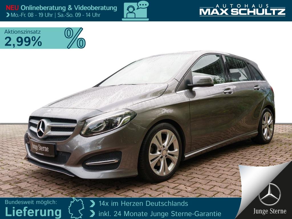 Mercedes-Benz B 200 URBAN*AHZV*LED*THERMOTRONIC*TWA*NAVI*PDC*, Jahr 2016, Benzin