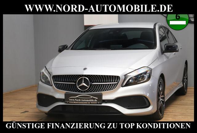 Mercedes-Benz A 220 CDI 7G-DCT AMG Line*Leder*Navi*LED*Kamera*, Jahr 2017, Diesel
