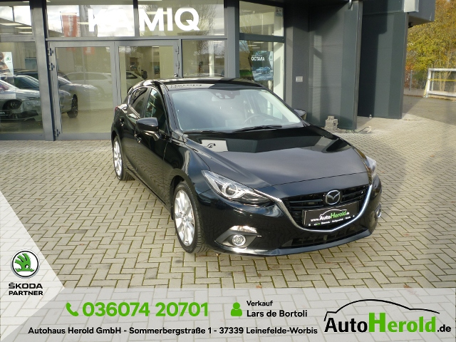 Mazda 3 Lim. Sports-Line 2.0l, Jahr 2014, Benzin