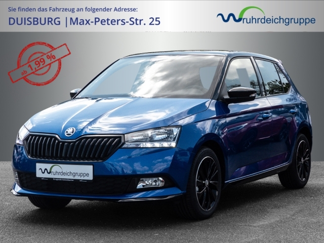 Skoda Fabia Monte Carlo 1.0 TSI Klimaauto DAB 16'' Alu, Jahr 2021, Benzin