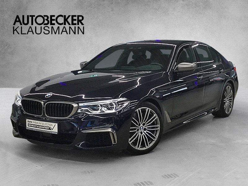 BMW M550i xDrive Limo ACC Sitzlüft. HuD Fond Entertainm. Apple WLAN, Jahr 2017, Benzin