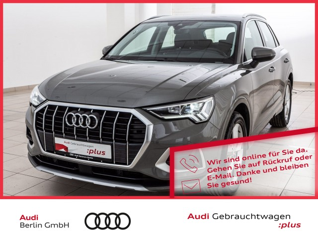 Audi Q3 advanced 35 TFSI S tronic LED NAVI PDC, Jahr 2020, Benzin