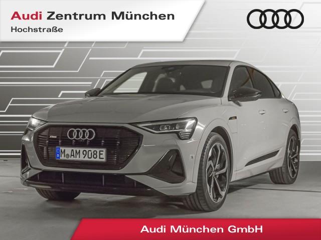 """Audi e-tron Sportback 55 qu. S line Virtual+ MatrixLED Navi Luftfw. Leder Assistenz 21"""", Jahr 2021, electric"""