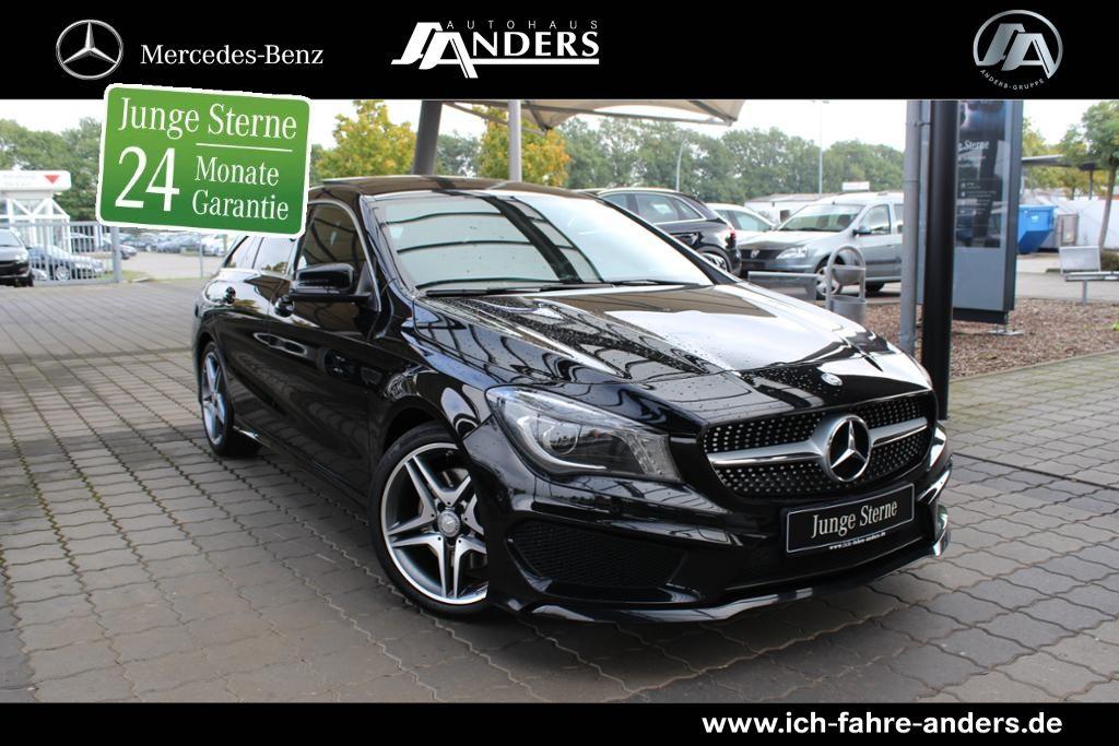 Mercedes-Benz CLA 250 4M AMG SB Navi+Bi-Xenon+Pano-Dach+Kamera, Jahr 2015, petrol