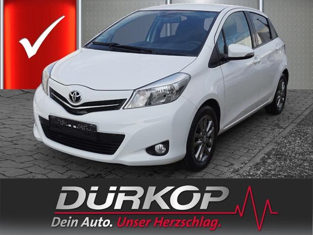 Toyota Yaris 1.33 Dual-VVTi Edition 2014 Radio Klimaaut. el. Fenster ZV, Jahr 2014, petrol