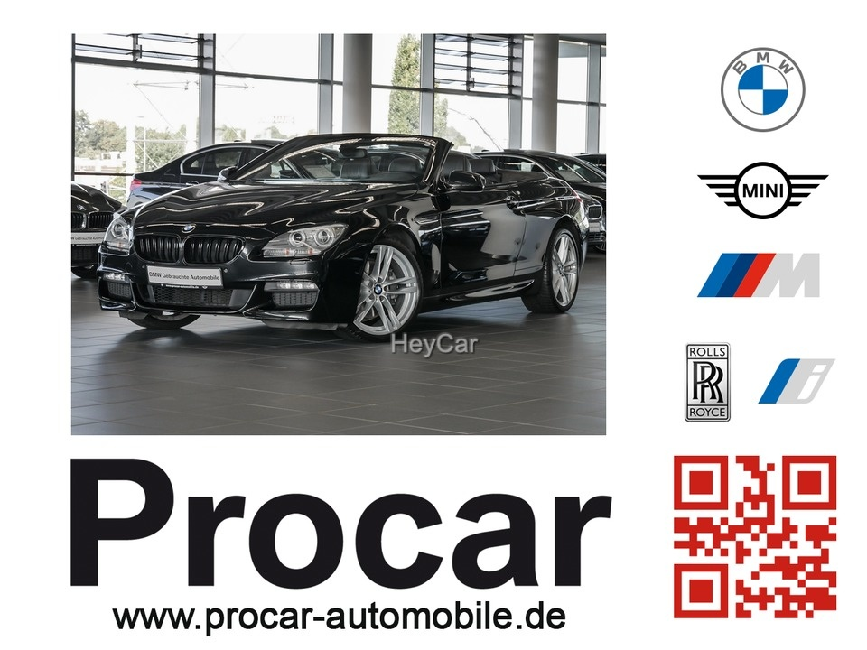 BMW 640d xDrive Cabrio M Sportpaket Head-Up RFK DAB, Jahr 2014, Diesel