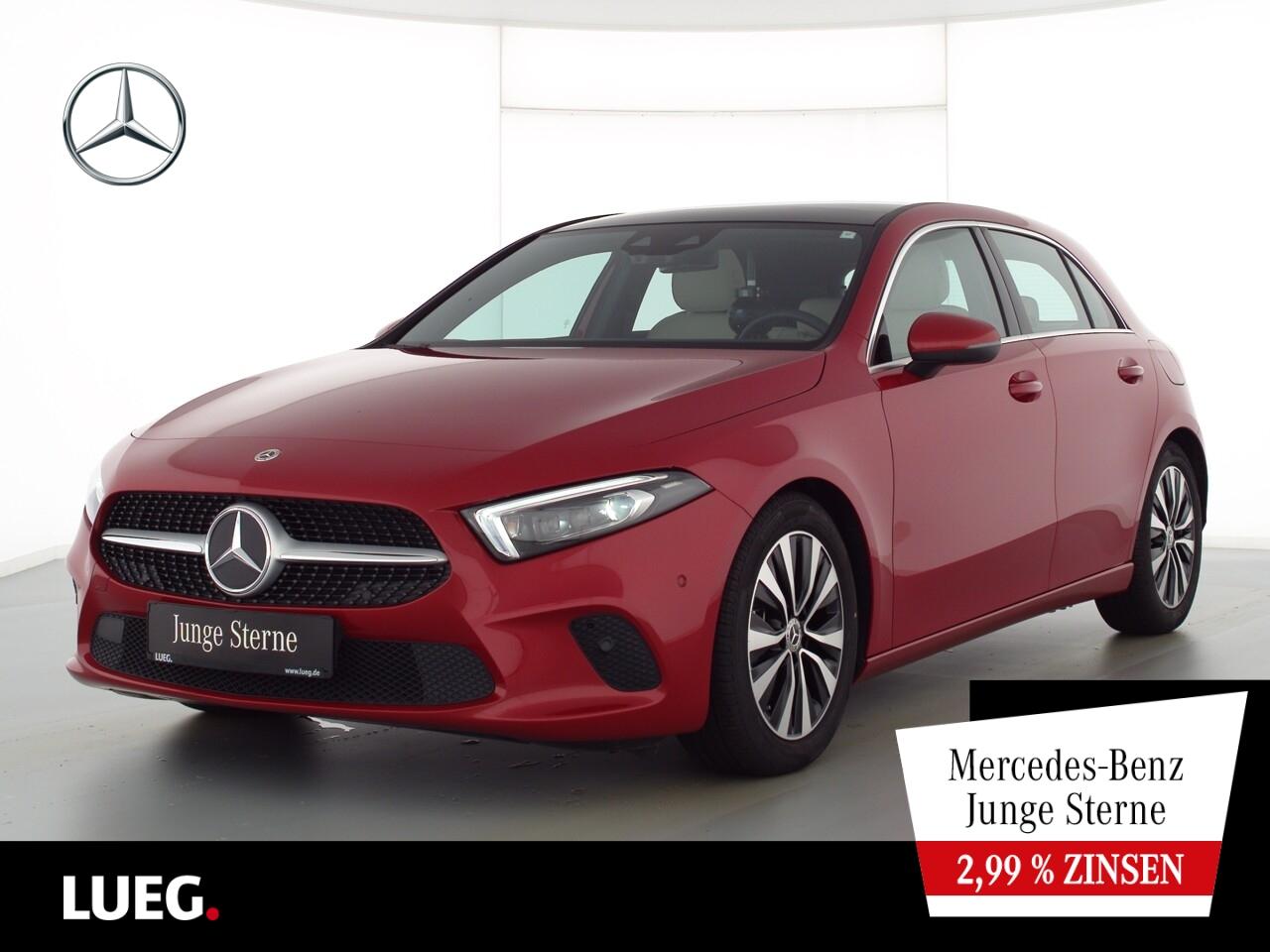 Mercedes-Benz A 200 d Progressive+MBUXHighE+PD+Mbeam+Sthzg+RFK, Jahr 2020, Diesel