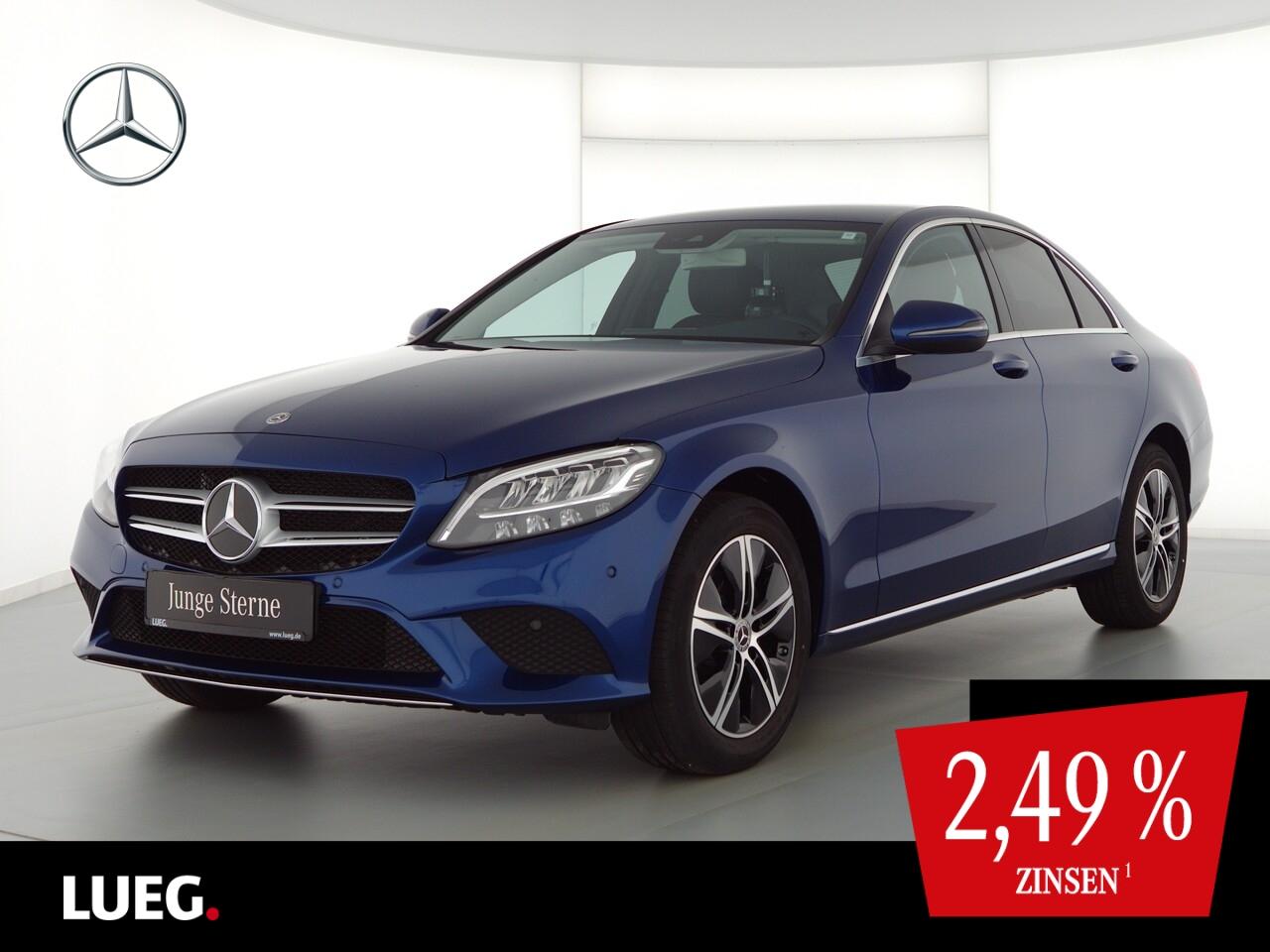 Mercedes-Benz C 180 Avantgarde+Navi+LED-HP+Burm+AParkAssistent, Jahr 2020, Benzin