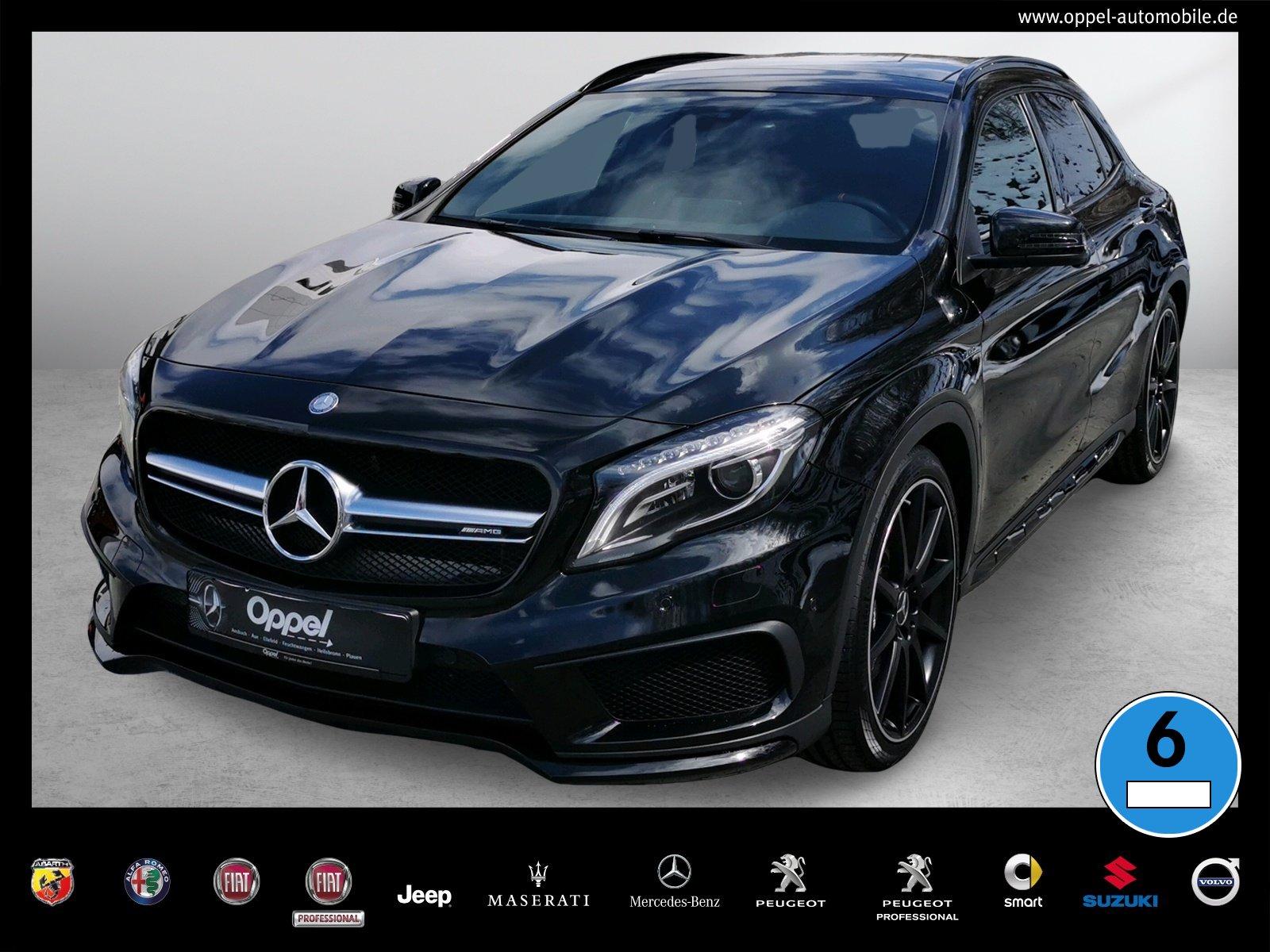 Mercedes-Benz GLA 45 AMG 4Matic ++AMG+PANORAMA+TEMPOMAT+XENON+, Jahr 2016, Benzin
