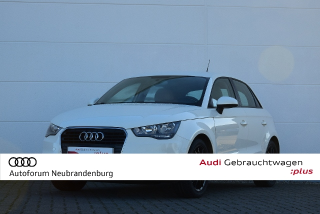 Audi A1 Sportback Attraction 1.6TDI-90PS-5Gang-Haloge, Jahr 2013, Diesel