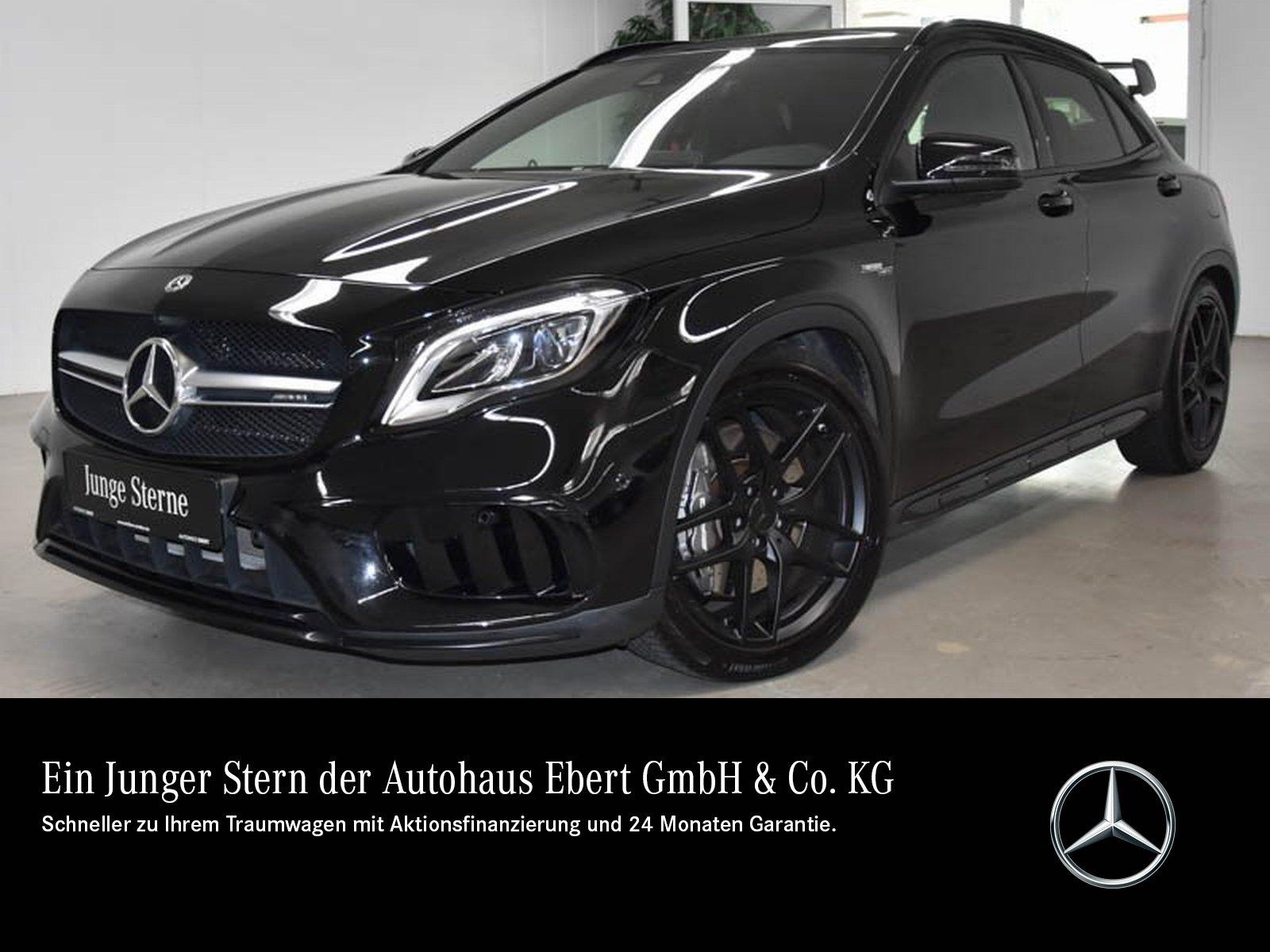 Mercedes-Benz GLA 45 AMG 4M COMAND+LED+RFK+PSD+SPORTSITZ+NIGHT, Jahr 2018, Benzin