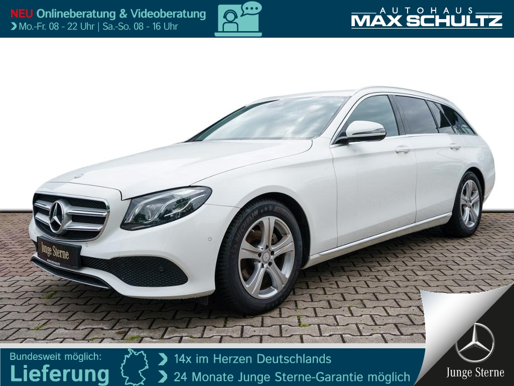 Mercedes-Benz E 220 d T AVANTGARDE*MULTBEAM*TWA*PTS*NAVI*SHZ*, Jahr 2017, Diesel