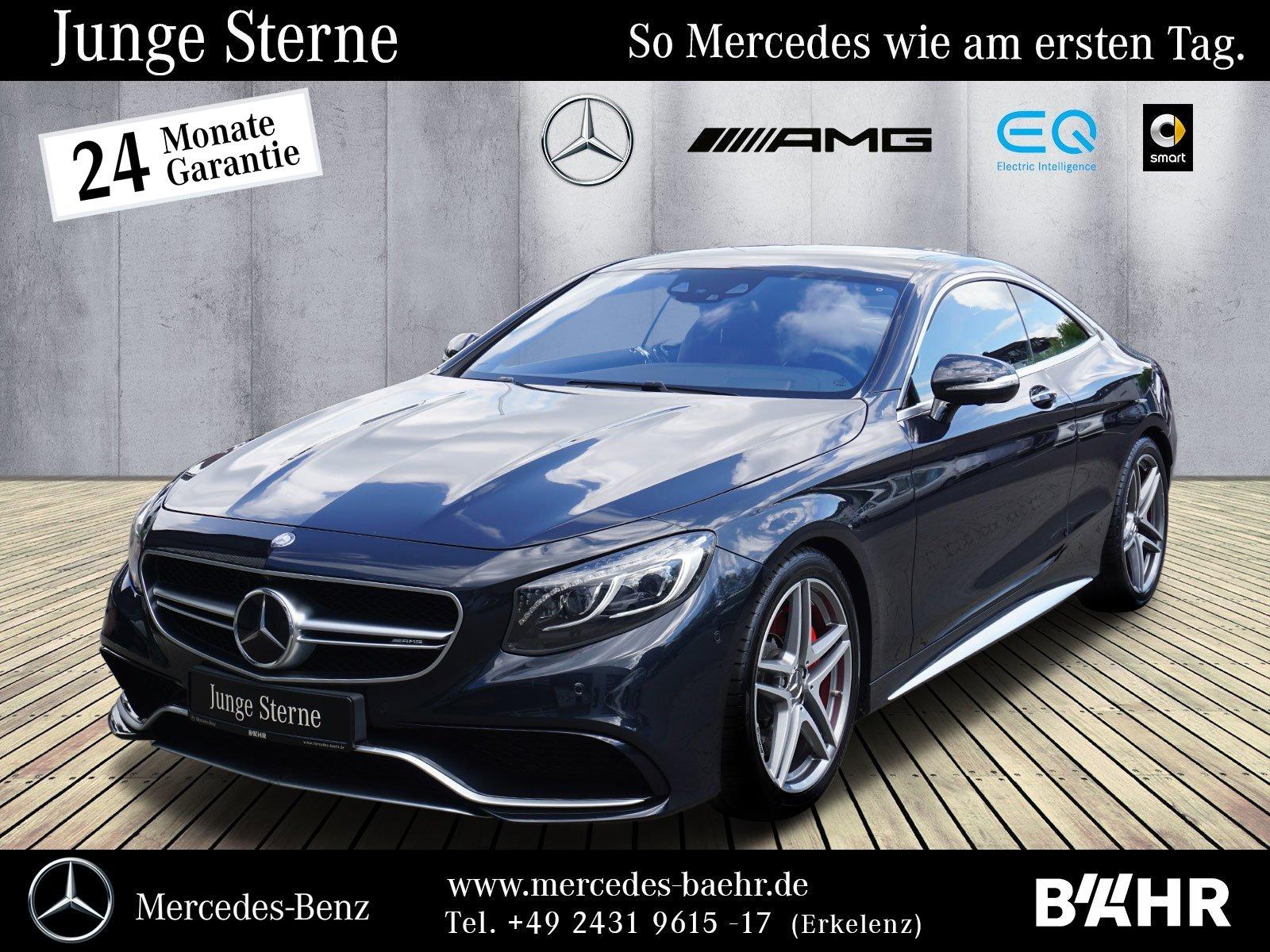 """Mercedes-Benz S 63 AMG 4M Coupé Comand/ILS/Driver'sPackage/20"""", Jahr 2016, petrol"""