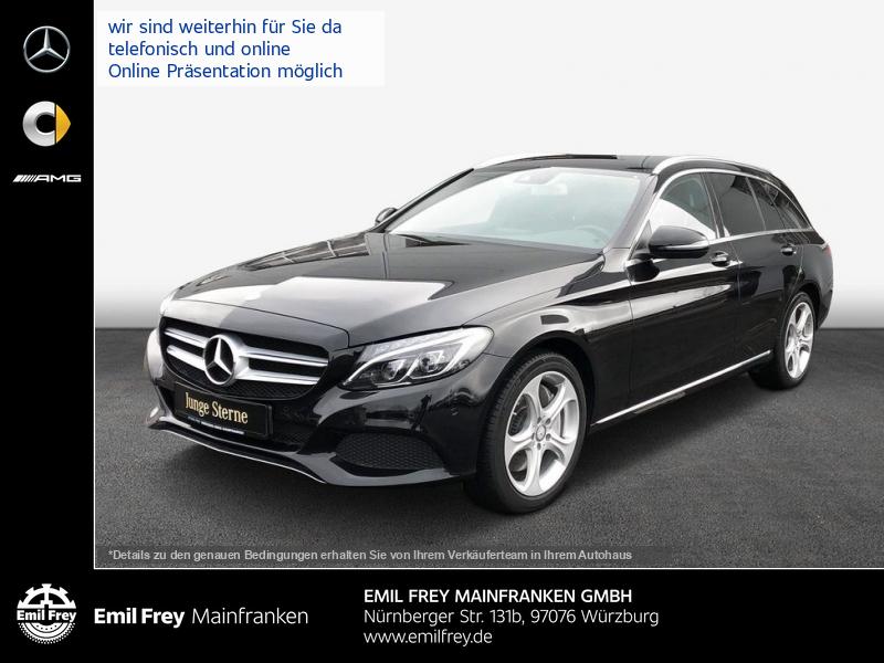 Mercedes-Benz C 350 e T Hybrid Avantgarde+AHK+Navi+ILS+Sitzhzg, Jahr 2016, Hybrid