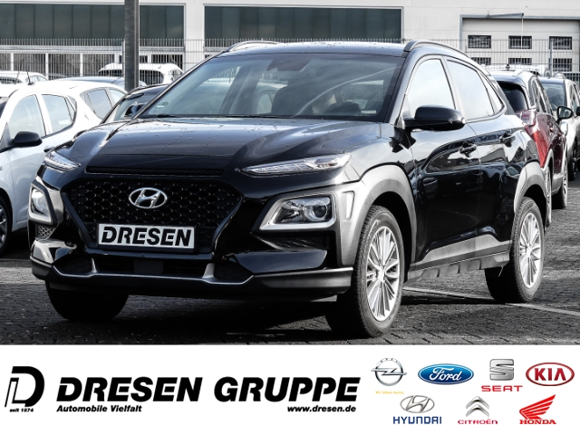Hyundai Kona YES! 2WD 1.0 T-GDI/Sitzheizung/Klimaautomatik/Tempomat, Jahr 2019, Benzin