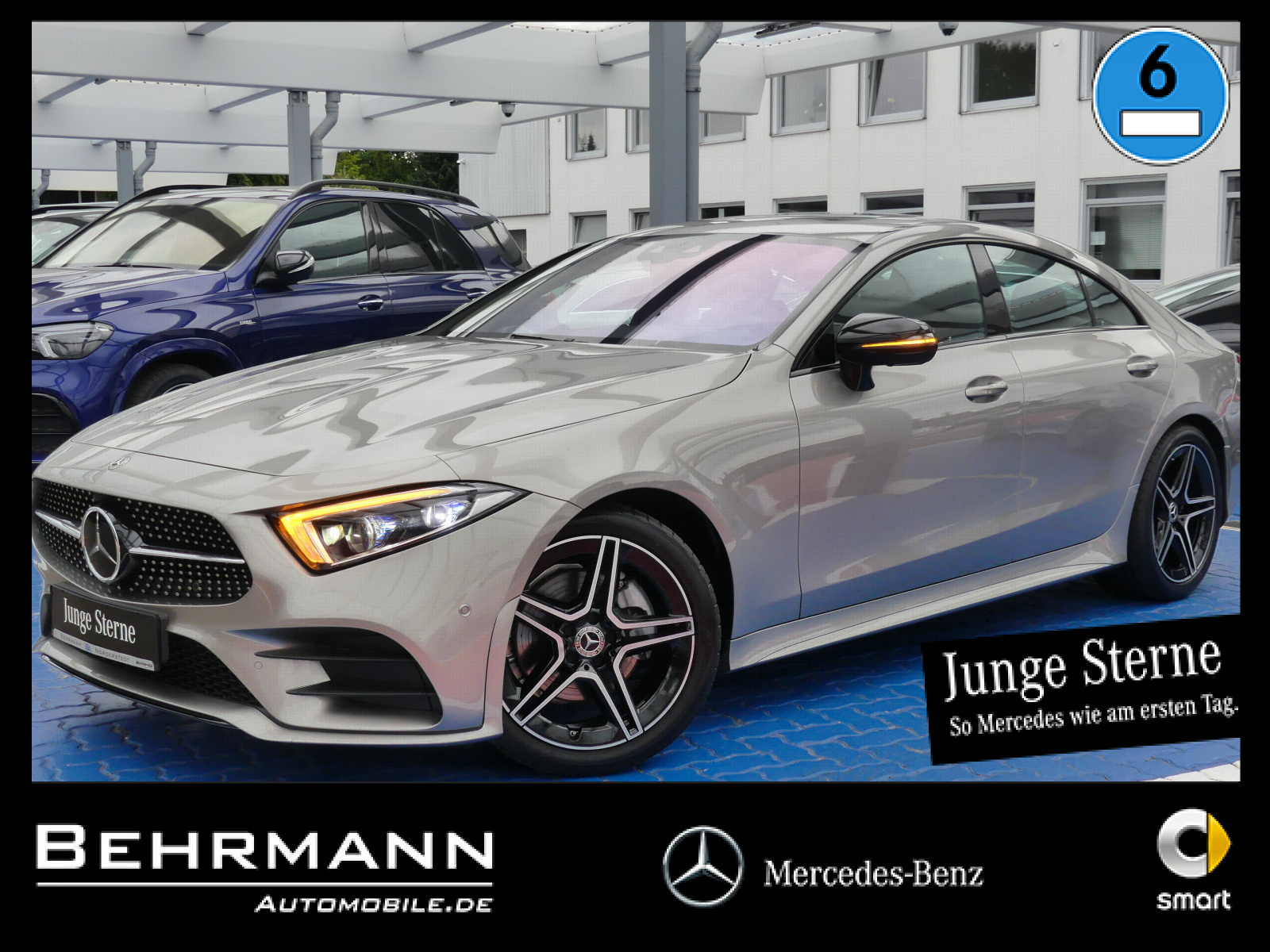 Mercedes-Benz CLS 220d AMG +Distronic+360°Kam+MBUX+AssistPaket, Jahr 2020, Diesel