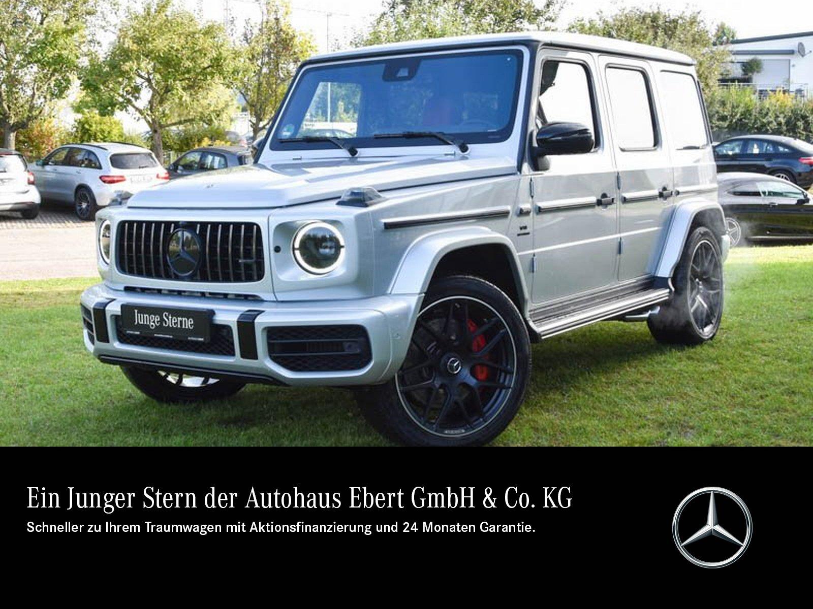 Mercedes-Benz G 63 AMG NIGHT+STHZG+360°+AHK+INTERIEUR ROT, Jahr 2021, Benzin