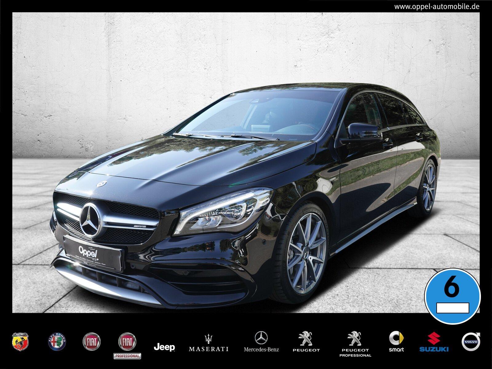 Mercedes-Benz CLA 45 AMG SB 4M +PANO. DACH+NAVI+ KEYLESS START, Jahr 2017, Benzin