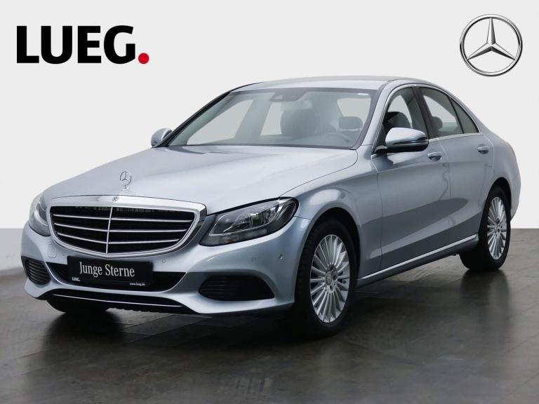 Mercedes-Benz C 220 d Exclusive+COM+SpurP+ParkAssistent+Kamera, Jahr 2016, Diesel