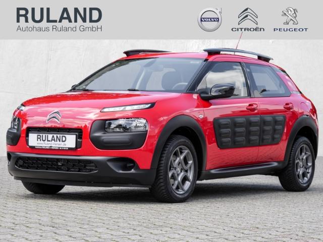 Citroën C4 Cactus Feel (Euro 6) Rückfahrkamera Klimaautomatik USB Freisprechanlage ALU-Räder Allwetterreifen, Jahr 2017, Benzin