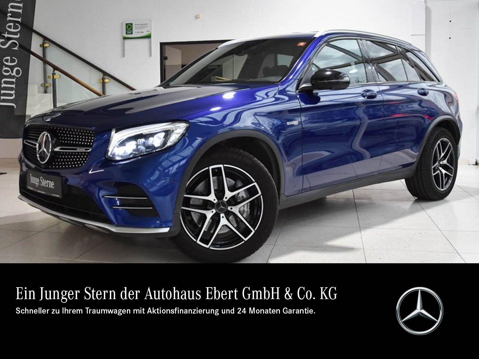 Mercedes-Benz GLC 43 AMG 4M 9G+COMAND+HUD+AHK+ILS+DISTR.+360°, Jahr 2017, Benzin