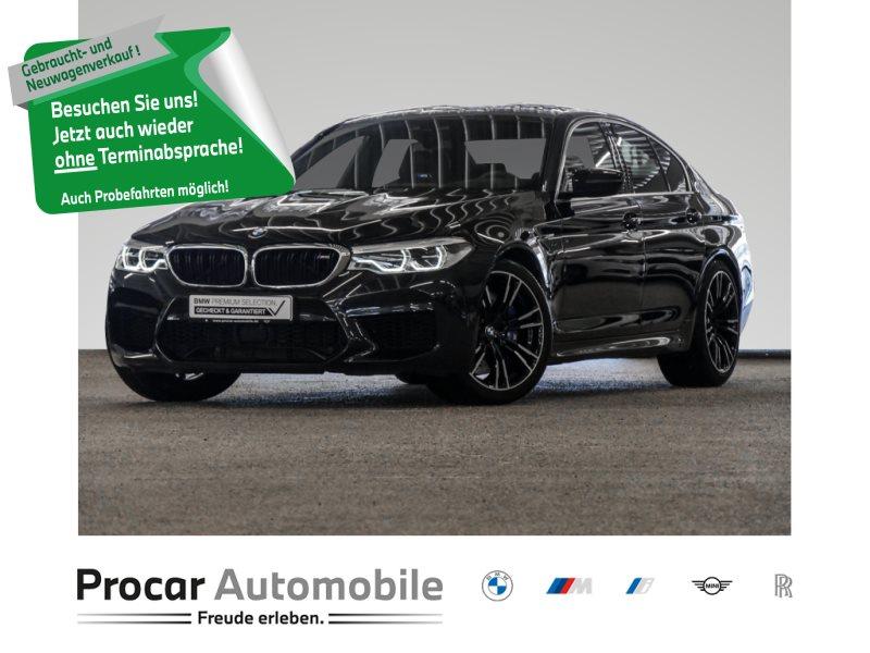 BMW M5 Limousine NAVI+LEDER+HEAD-UP+HARMAN-KARDON+SOFTCLOSE+, Jahr 2020, Benzin
