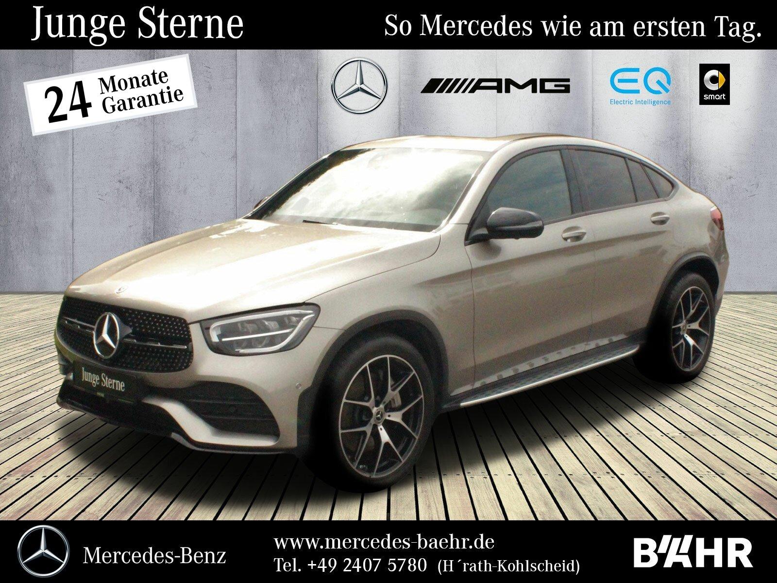 Mercedes-Benz GLC 400 d 4M Coupé AMG+Night/MBUX-Navi/LED/360°, Jahr 2020, Diesel