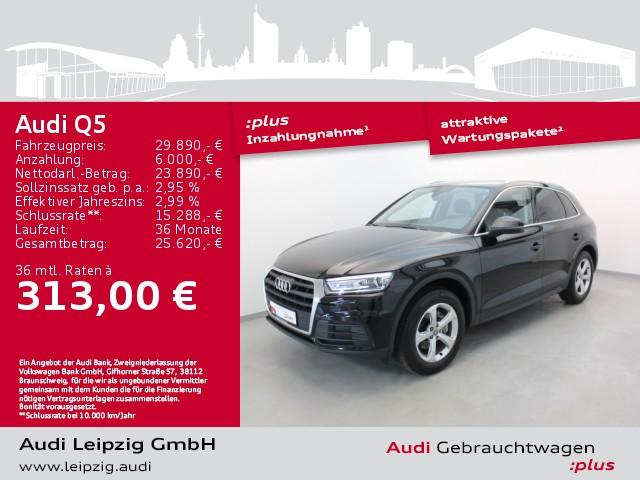 Audi Q5 2.0 TDI *Xenon*Navi*AHK*, Jahr 2018, Diesel