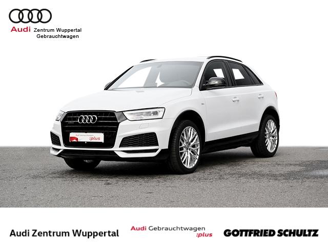 Audi Q3 2.0TFSI QUAT. 2X S-LINE LEDER BOSE KAMERA DAB NAV SHZ PDC VO HI FSE 19ZOLL Sport, Jahr 2018, Benzin
