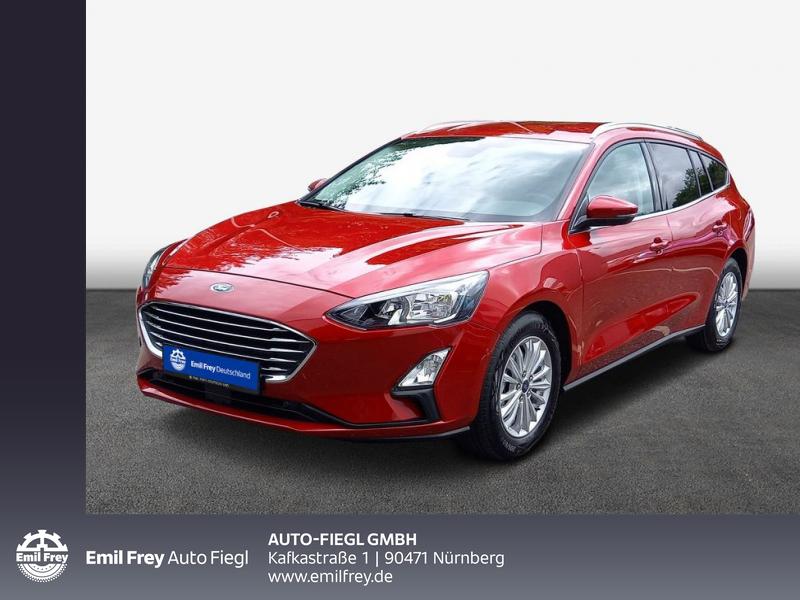 Ford Focus Turnier 1.5 EcoBoost Start-Stopp-System Aut. TITANIUM X 110 kW, 5-türig, Jahr 2021, Benzin