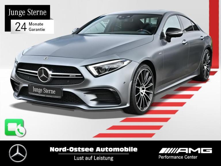 Mercedes-Benz CLS 53 AMG Comand 4M Distr. Drivers P. AHK 360°, Jahr 2019, Benzin