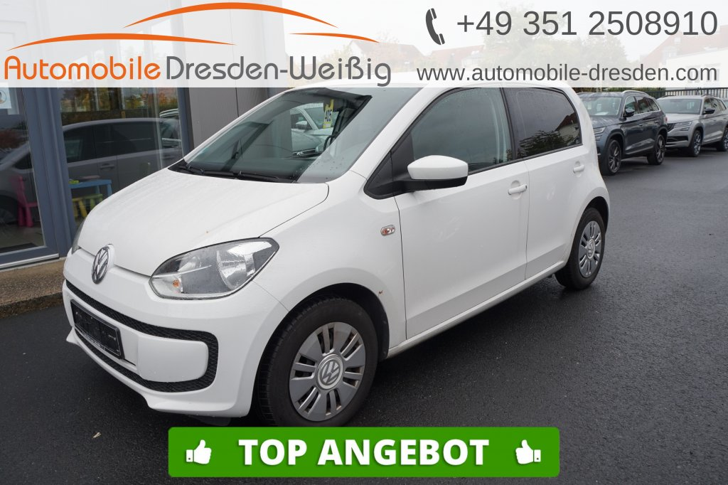 Volkswagen up! 1.0 move up!*Klima*, Jahr 2014, Benzin