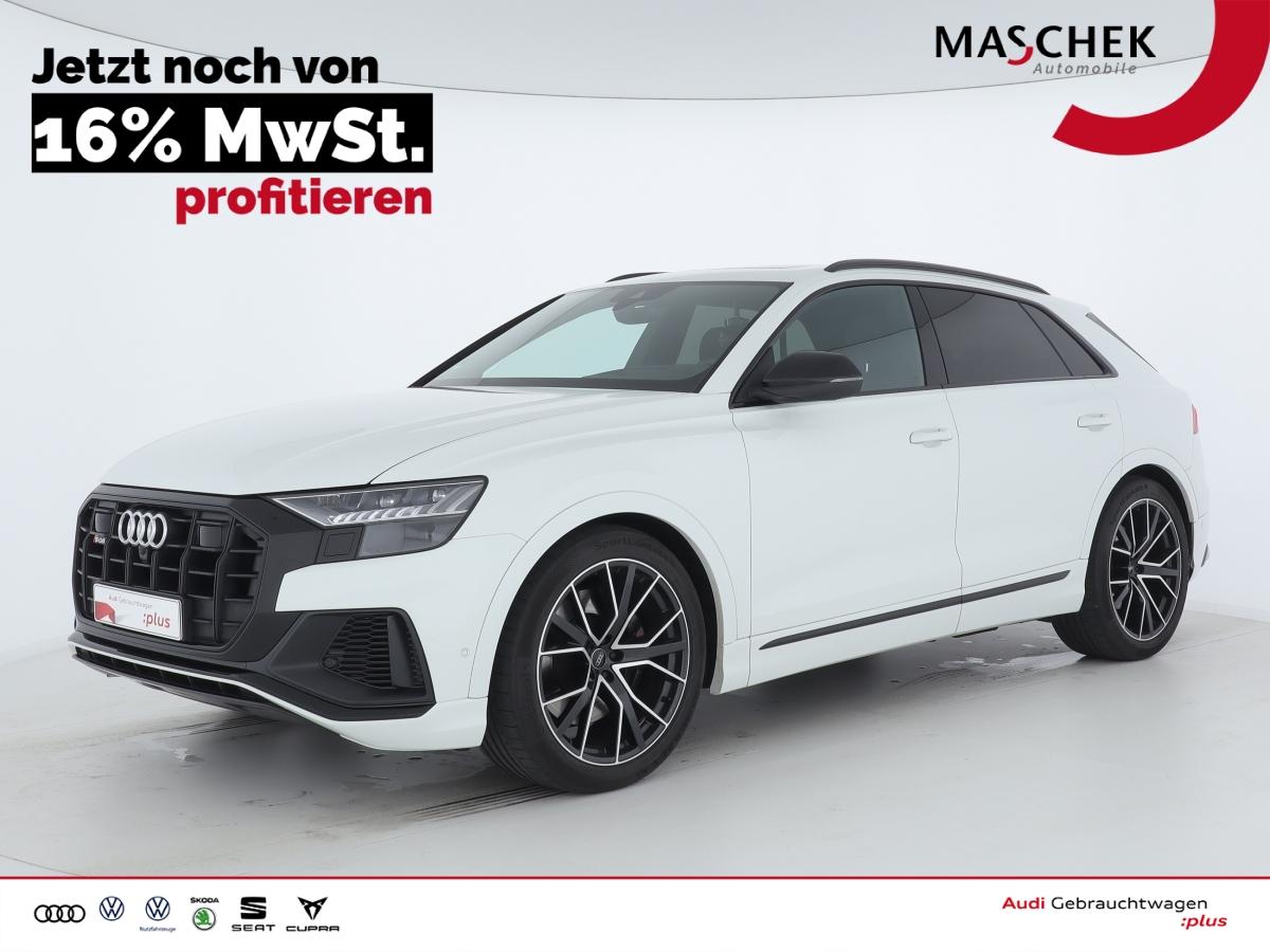Audi SQ8 AHK Standh. Pano BlackEdition B&O el. Sitze, Jahr 2019, Diesel