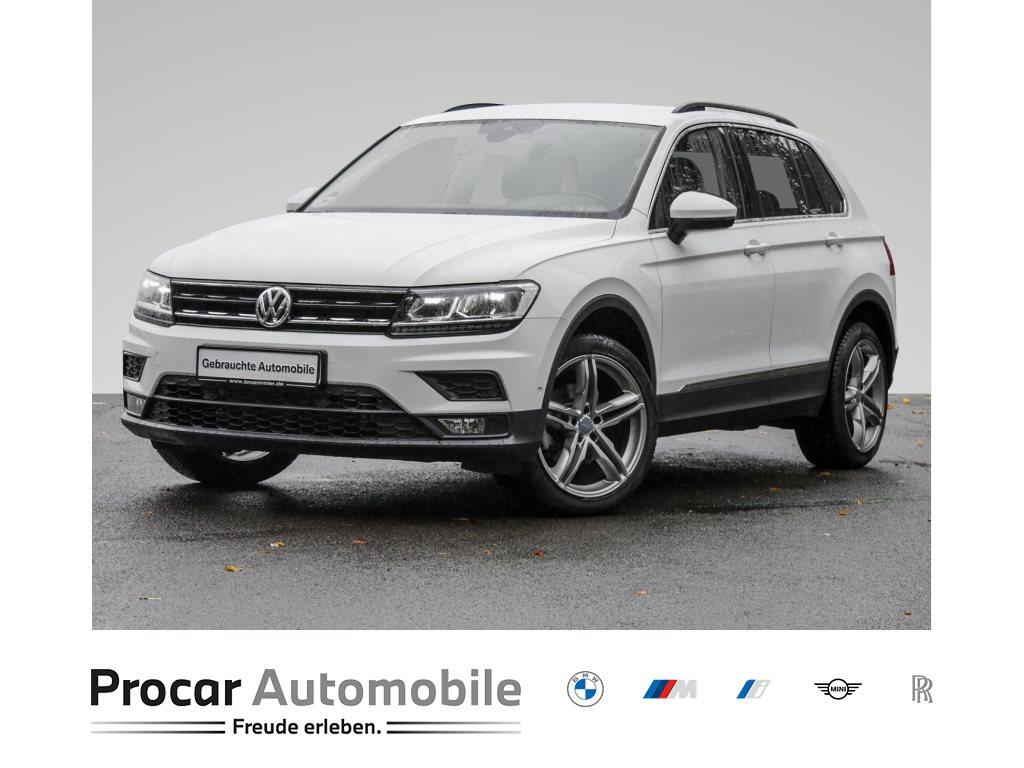 Volkswagen Tiguan COMFORTLINE++AHK++NAVI++KAMERA++LED++LANE-ASSIST, Jahr 2019, Benzin
