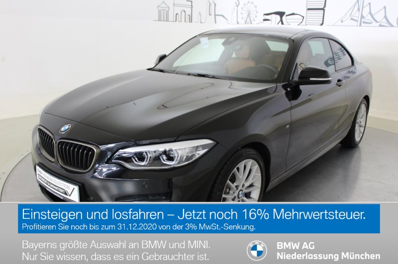 BMW M240i Coupé M Sportbr. HK HiFi Var. Lenkung LED, Jahr 2019, Benzin