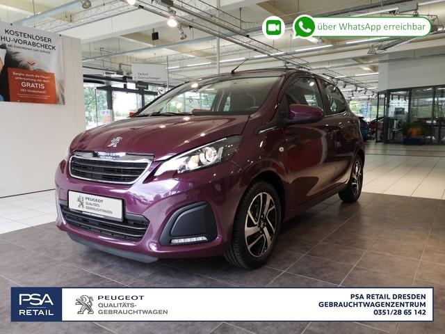 Peugeot 108 VTI 68 Top! Active/ Cabrio/Klima/ ZV/ Radio/ BT, Jahr 2015, Benzin