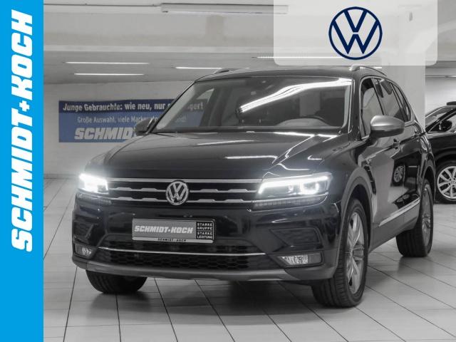 Volkswagen Tiguan Allspace 2.0 TDI 4Motion Highline AHK, Jahr 2017, Diesel
