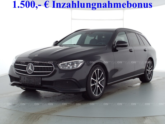 Mercedes-Benz E 220 T d Avantgarde Night+MBUX High-End+SHD+AHK+LED, Jahr 2020, Diesel