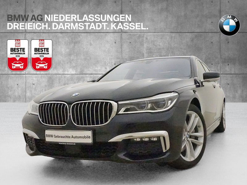 BMW 740d xDrive Limousine Touch Command Head-Up DAB, Jahr 2016, Diesel