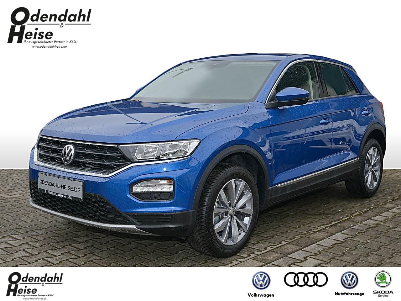 Volkswagen T-Roc 1,5 l TSI DSG Klima Navi Einparkhilfe, Jahr 2020, Benzin