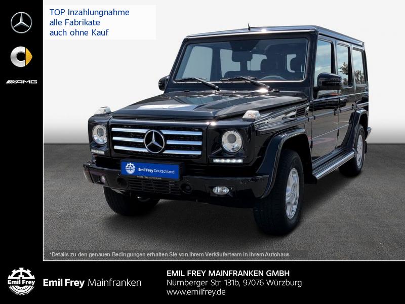 Mercedes-Benz G 350 d Comand Standheizung AHK SHZ 4x Sound, Jahr 2013, Diesel