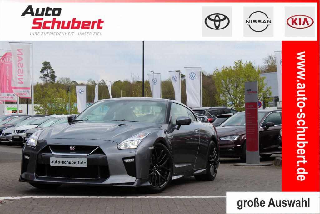 Nissan GT-R Black Edition+Rückfahrkamera+Navi+ RECARO Sportsitze, Jahr 2017, Benzin