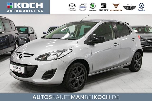 Mazda Mazda2 1.3MZR 75PS 5Türer IRO Kilma Einparkhilfe, Jahr 2014, Benzin