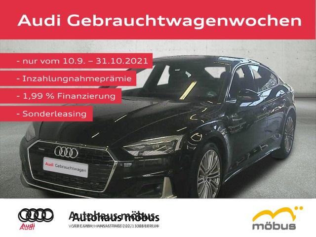 Audi A5 Sportback 45 TDI QU*TIPT*AHK*NAVI*AVC*RFK, Jahr 2021, Diesel