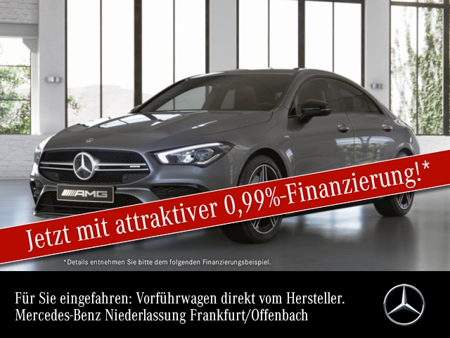 Mercedes-Benz CLA 35 AMG 4Matic Bluetooth Navi LED Klima, Jahr 2020, Benzin