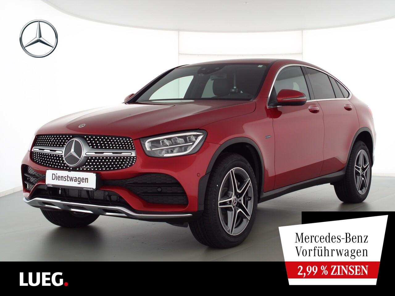 Mercedes-Benz GLC 300 de 4M Coupé AMG+AHK+KEYLESS+BURMESTER, Jahr 2021, Hybrid_Diesel