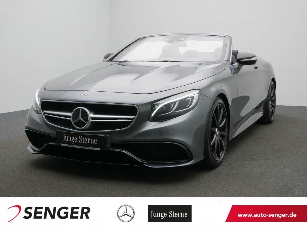 Mercedes-Benz S 63 AMG 4M Cabriolet Drivers-Pack Burmester, Jahr 2017, Benzin