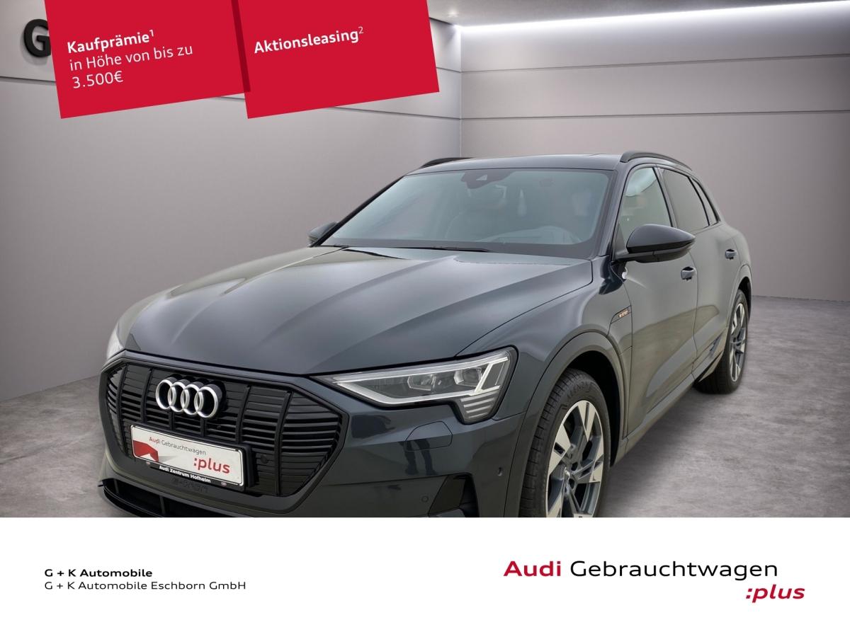 Audi e-tron 55 qu. advanced 300kW*Air*Pano*Kamera*B&O, Jahr 2020, Elektro