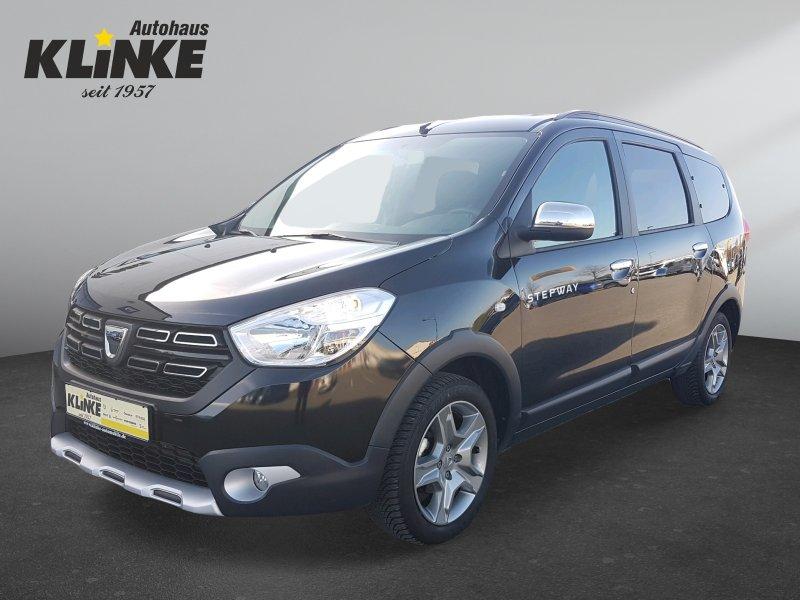 Dacia Lodgy Stepway 7 Sitzer SCe 100 +Klima+Navi+Rückfahrkamera+PDC, Jahr 2019, Benzin
