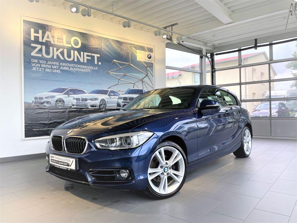 BMW 120dA SPORT LINE NAVI+LED+PDC+SITZH+M SPORT-LKRD, Jahr 2018, Diesel